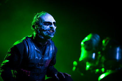 Gruselig - Fotos: Slipknot live in der Festhalle in Frankfurt am Main